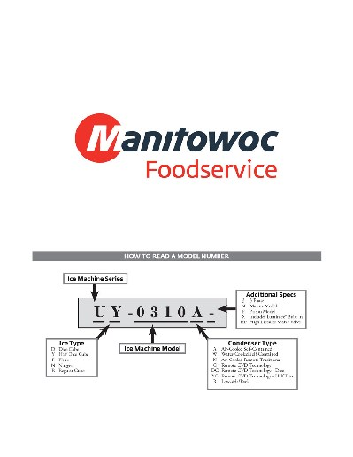 Manitowoc Product