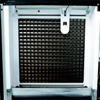 Front-facing evaporator
